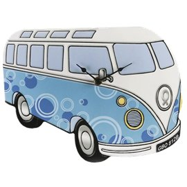 Campervan Wall Clock – Blue