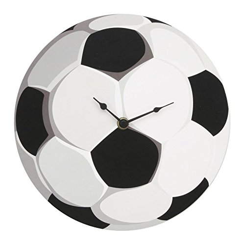 Hometime Wall Clock MDF Football Design