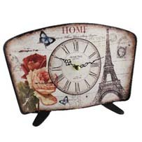 Hometime Mantel Clock Eiffel Tower -'Habitat'