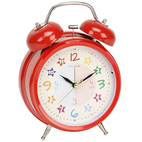Hometime Alarm Clock Teach The Time Size: H17 x W12 x D6 cms