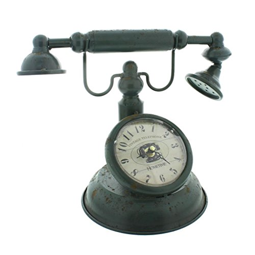 Old Fashioned Telephone Style Mantel Clock