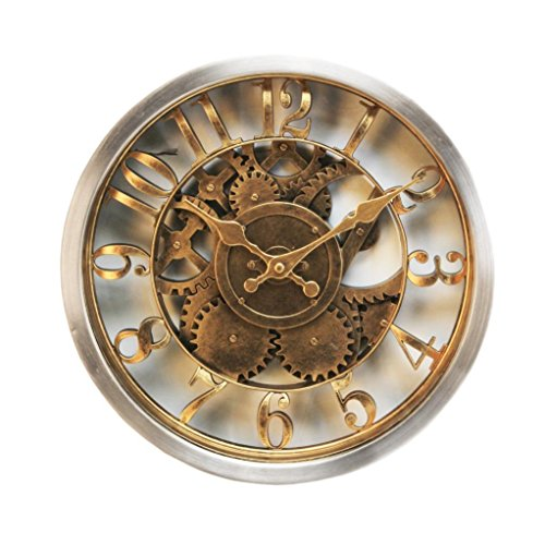 Hometime Rustic Wall Clock W7800